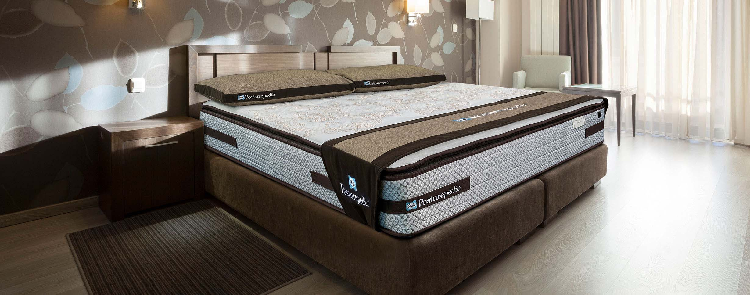 A Sleep Experience That Only The Aspire Collection From Sealy Posturepedic  Can Offer.