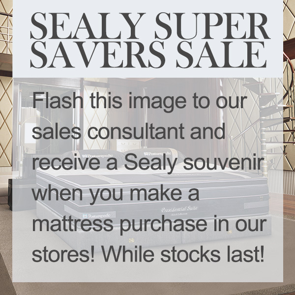 sealy super savers sale gift