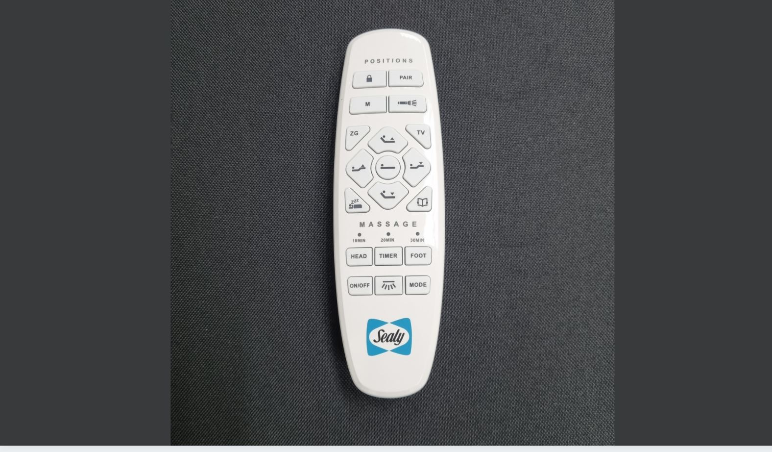 Sealy Energise Base Remote Control